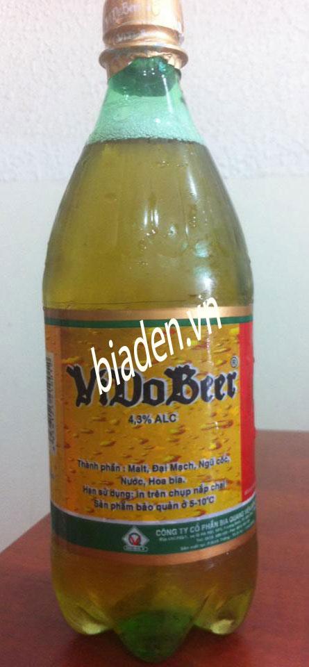 Bia tươi ViDoBeer, bia tươi chai pét